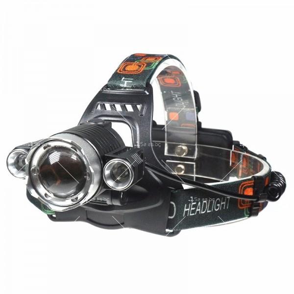 Водоустойчив фенер челник за глава FL24B