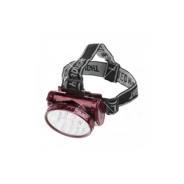 Силен презареждащ се фенер за глава с 13 LED диоди FL50