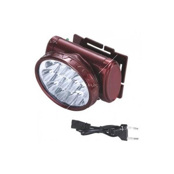 Силен презареждащ се фенер за глава с 13 LED диоди FL50 2