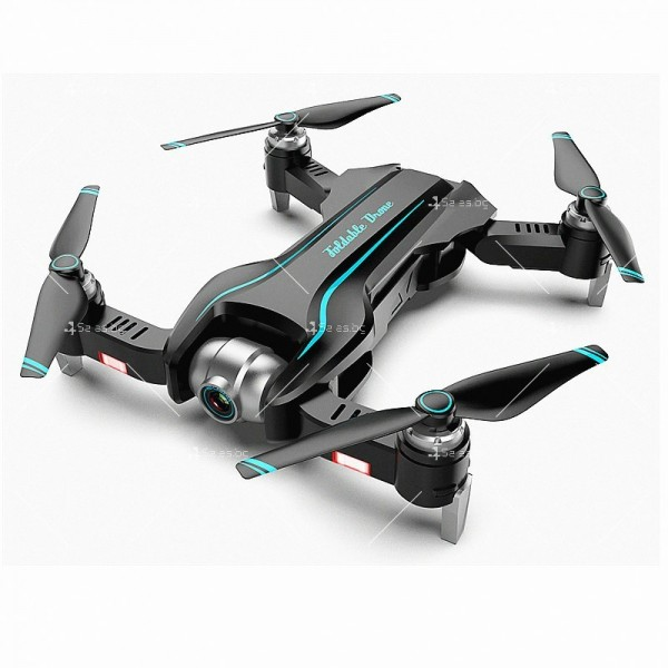 Сгъваем WiFi RC Quadcopter с двойна 4K камера, S17 DRON 4K 2