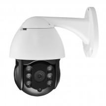 Проследяваща HD мрежова куполна камера със звукова и светлинна аларма IP26