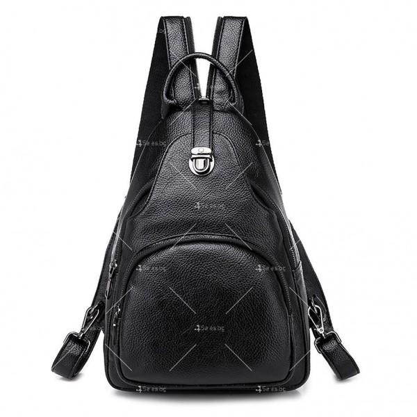 Дамска раница в комплект с чантичка и портмоне BAG102 2