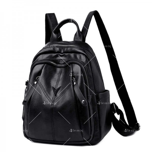 Комплект 3 части дамска раница, чантичка и портмоне BAG103 2