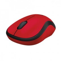 Безжична оптична мишка в червено