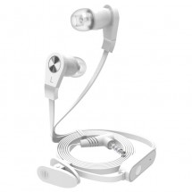 Аудио слушалки бели