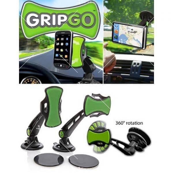 Нано стойка за кола за телефон или GPS ST46 2