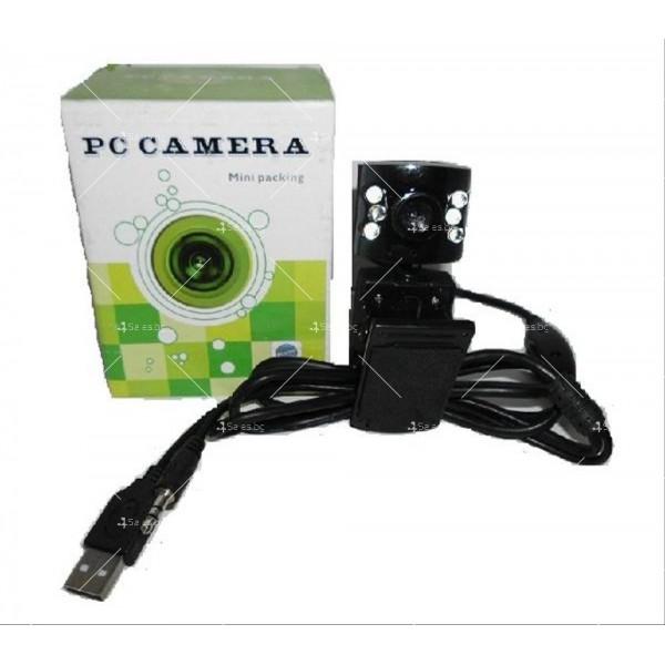 USB WEB камера за компютър или лаптоп Mini packing 3