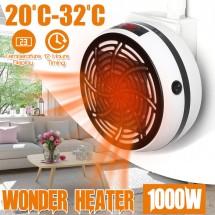 Портативен мини нагревател Warm air 1000W с подарък дистанционно TV687
