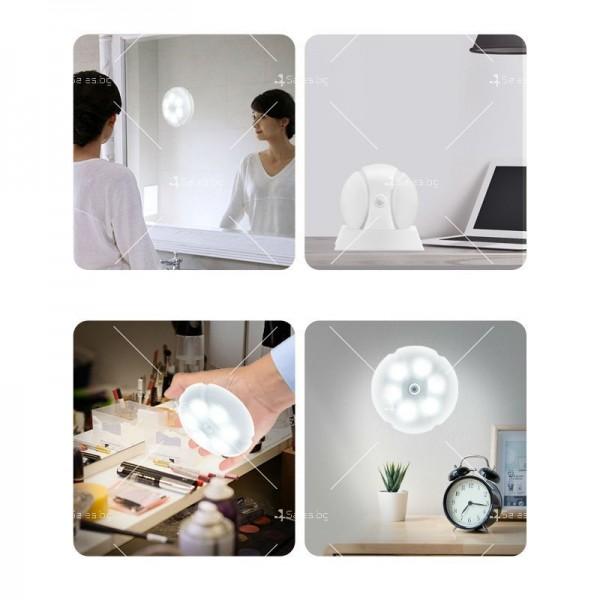 Нощна LED светлина модел LH-158 с интелигентен датчик R LED3 2