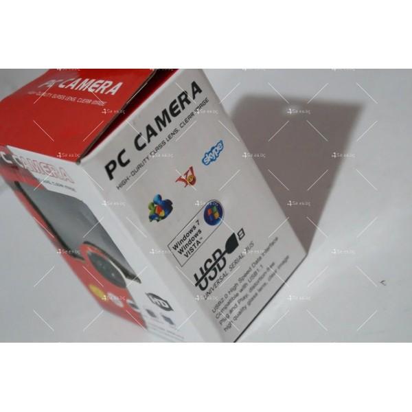 HD USB WEB камера за компютър или лаптоп 2