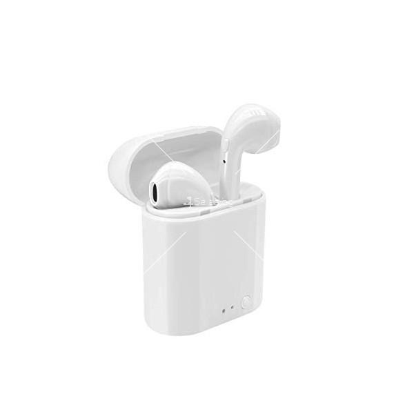 Безжични слушалки със зареждащ кейс i11S TWS 2