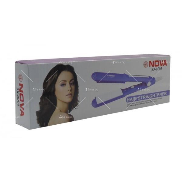 Преса за изправяне на коса Nova SX-8006