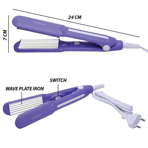 Преса за изправяне на коса Nova SX-8006 3