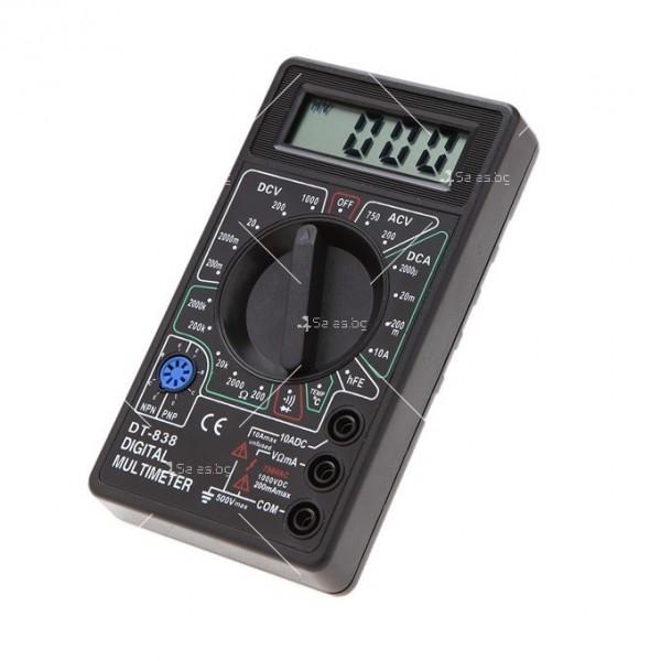 Цифров мултиметър модел DT838 TV532