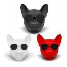 Безжична Bluetooth колонка French bulldog в три цвята
