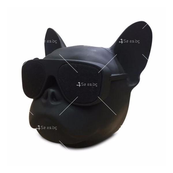 Безжична Bluetooth колонка French bulldog в три цвята 3