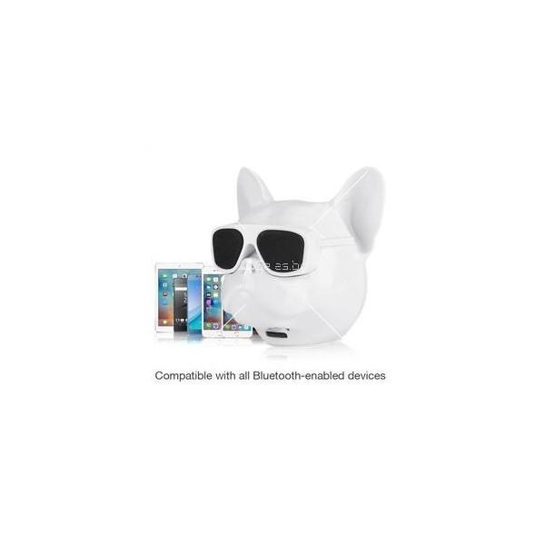Безжична Bluetooth колонка French bulldog в три цвята 4
