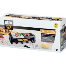 Електрически раклет грил 3 в 1 Raclette grill 3 in 1 Star TV529