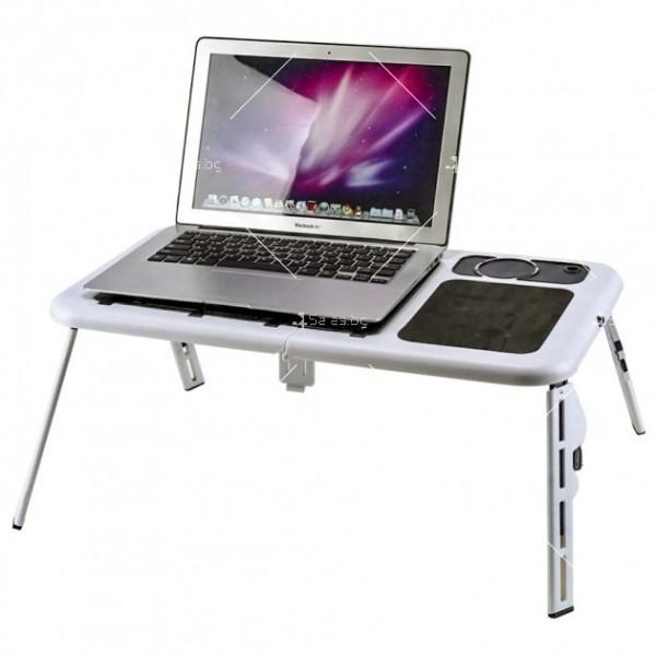 Регулираща масичка за лаптоп E-table 4