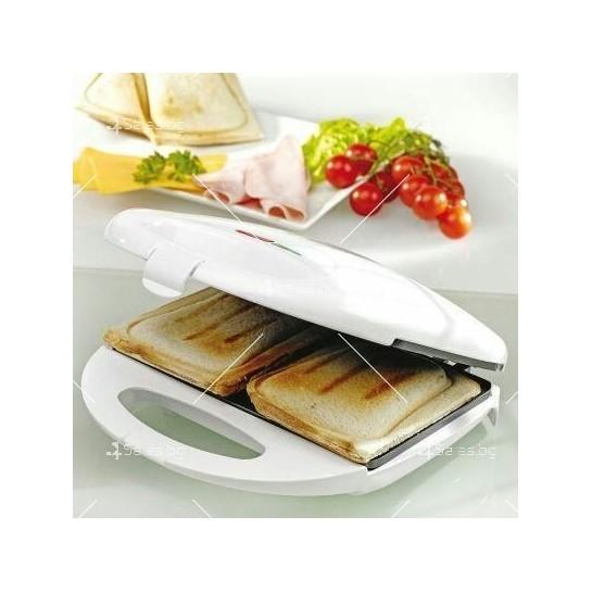 Компактен уред за клуб сандвичи и тостери TV539