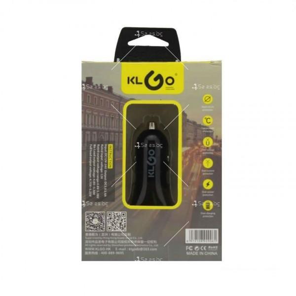 Висококачествено зарядно устройство за автомобил с два USB порта CA5 2