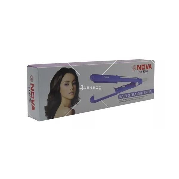 Преса за коса NOVA Ceramica Mini Travel 1