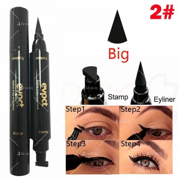 Дълготрайна и водоустойчива очна линия 2 в 1 тип писалка и печат DMN Hzs131 10