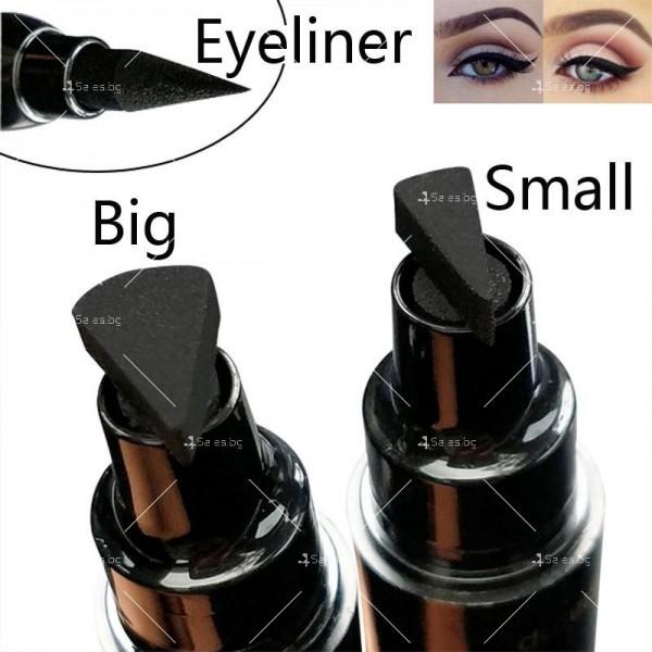 Дълготрайна и водоустойчива очна линия 2 в 1 тип писалка и печат DMN Hzs131 16