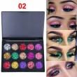 Палитра с блестящи сенки за очи с 15 цвята CmaaDU Hzs134 5