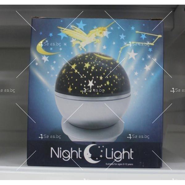 Нощна лампа детски планетариум TV343 1