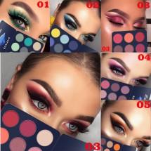 Палитра сенки за очи с 9 цвята DMN Hzs145