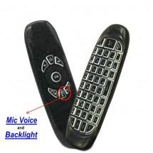 Дистанционно управление с функция за въздушна мишка и клавиатура Air mouse