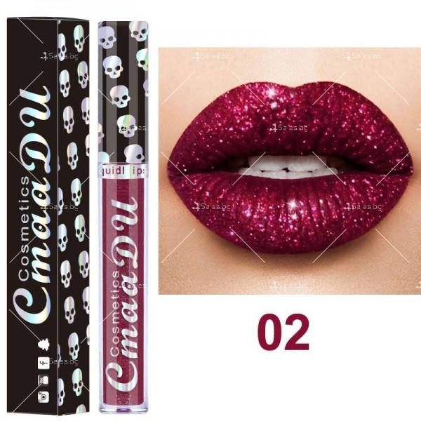 Бляскаво течно червило за устни CmaaDU Hzs154 3