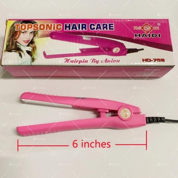 Мини преса за коса Topsonic hair care HD-768 1