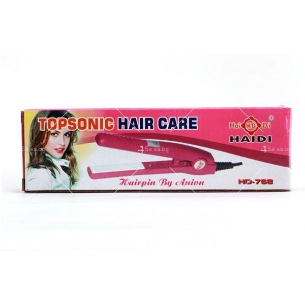 Мини преса за коса Topsonic hair care HD-768 2