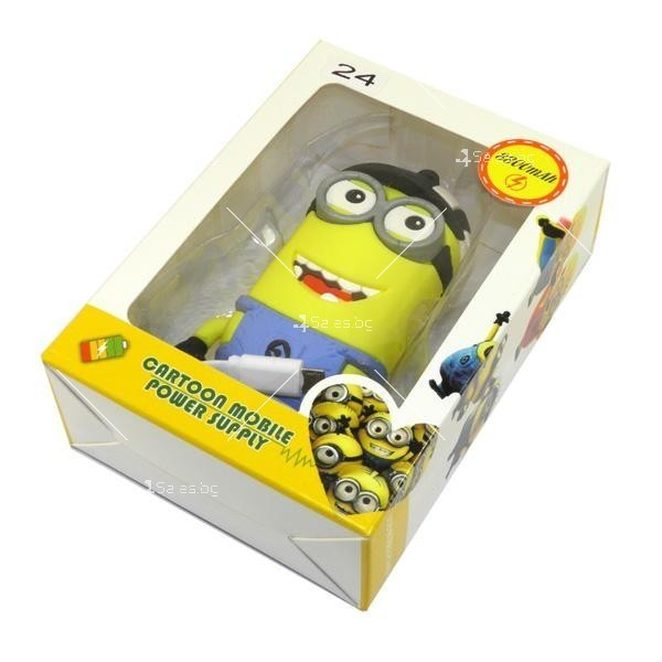 Външна батерия Cartoon mobile power supply - Minion