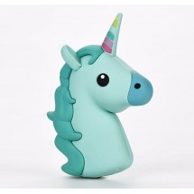 Външна батерия Cartoon mobile power supply - Green unicorn