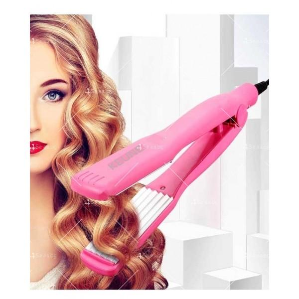 Преса за коса с турмалиново-керамични плочи TV414