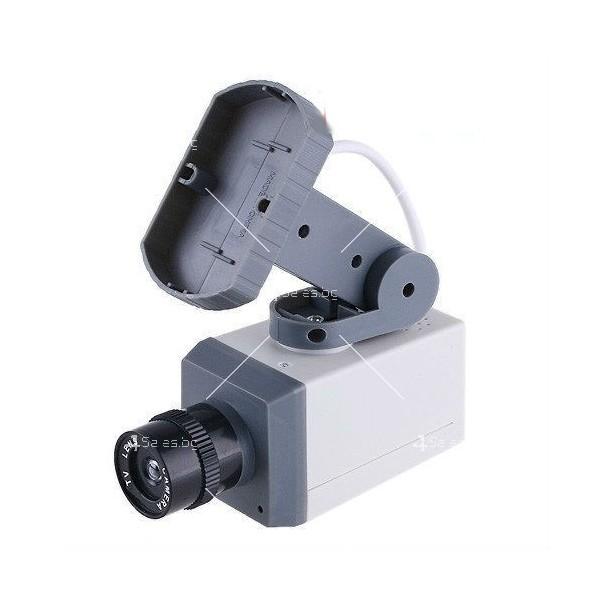 Изкуствена видеокамера следяща, със сензори и датчик за движение. 5