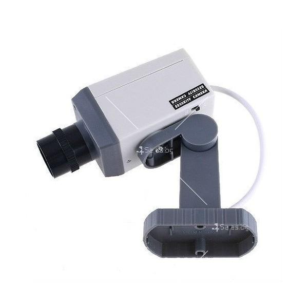 Изкуствена видеокамера следяща, със сензори и датчик за движение. 6