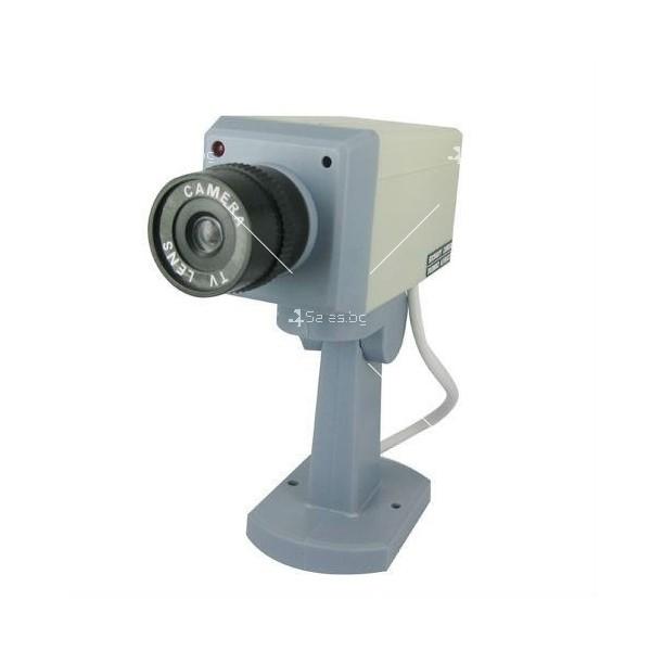 Изкуствена видеокамера следяща, със сензори и датчик за движение. 7