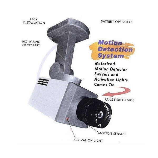 Изкуствена видеокамера следяща, със сензори и датчик за движение. 11