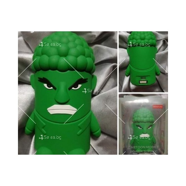 Външна батерия Cartoon mobile power supply - Hulk 2