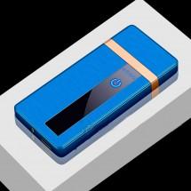 Стилна и луксозна ветроустойчива акумулаторна електронна запалка