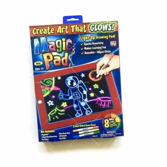 Светещ таблет за рисуване Magic Sketch Pad TV421