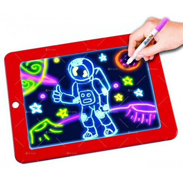 Светещ таблет за рисуване Magic Sketch Pad TV421 2