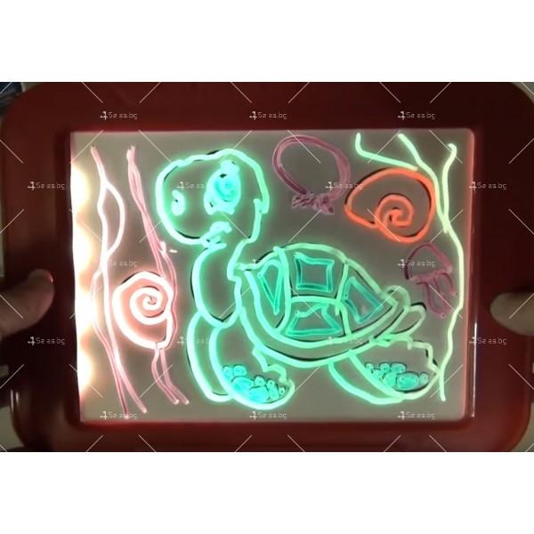 Светещ таблет за рисуване Magic Sketch Pad TV421 8