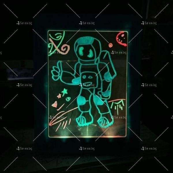Светещ таблет за рисуване Magic Sketch Pad TV421 10