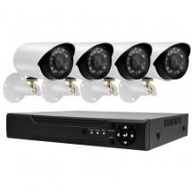 Дигитален комплект за външно видео наблюдение PST IPK04CH-POE