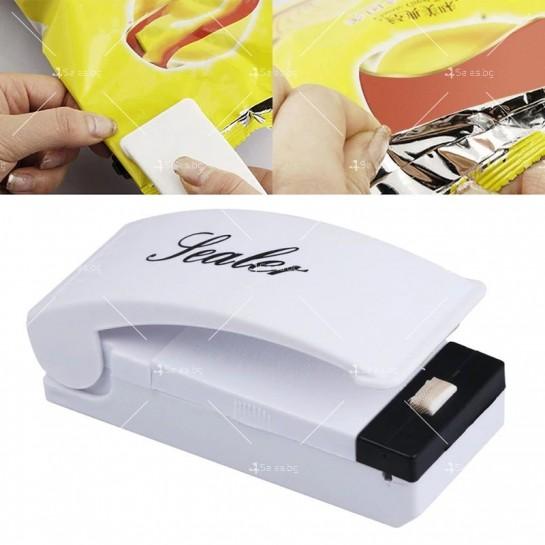 Уред за запечатване на торби и пликове Bag Sealer TV332